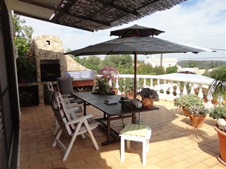 Covered Roof terrace